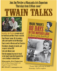 Twain Talks Thurs